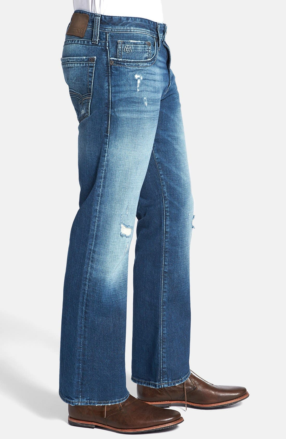 Alternate Image 3  - Mavi Jeans 'Josh' Bootcut Jeans (Indigo Cashmere)