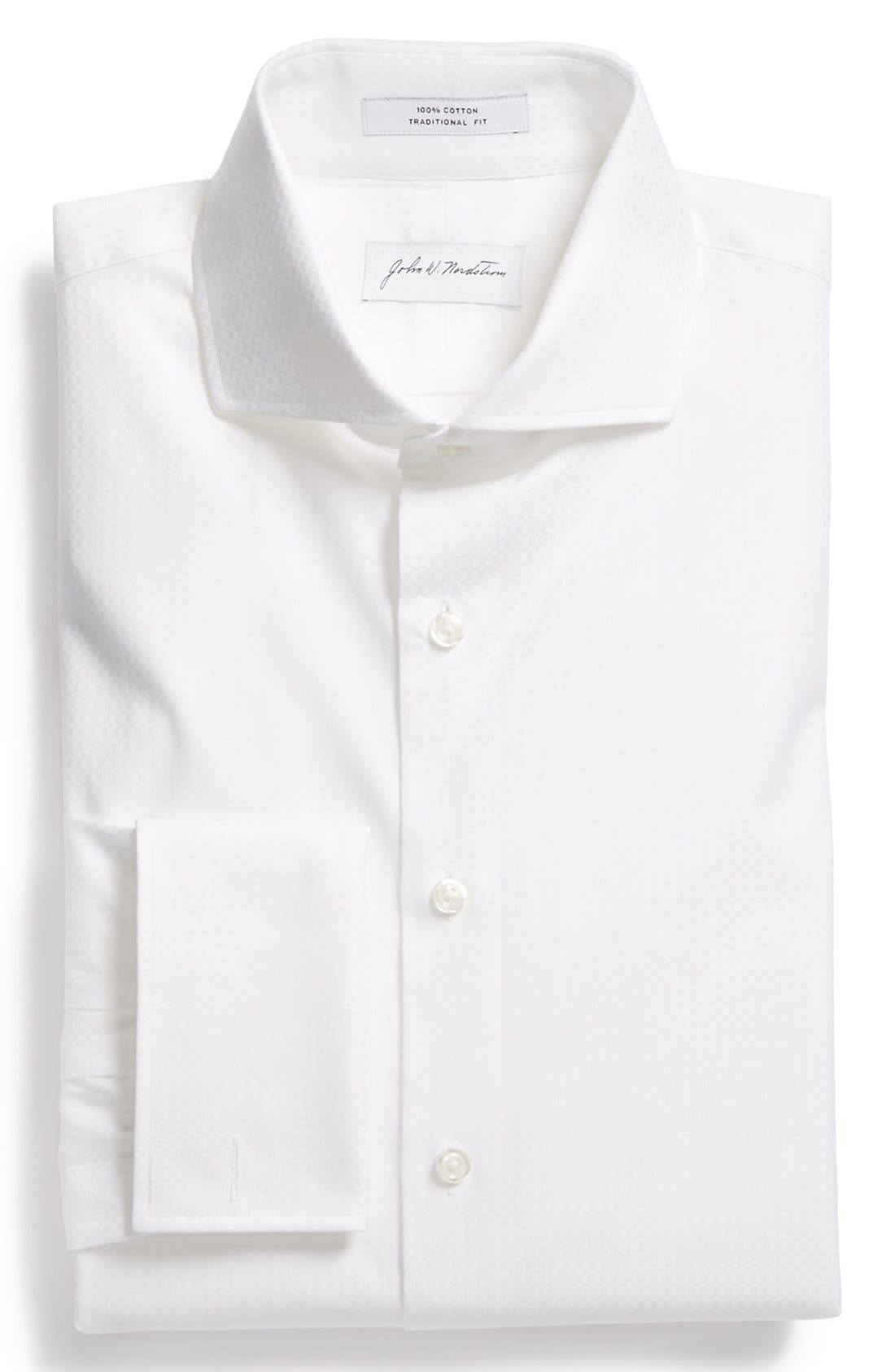 Alternate Image 1 Selected - John W. Nordstrom® Traditional Fit Tuxedo Shirt