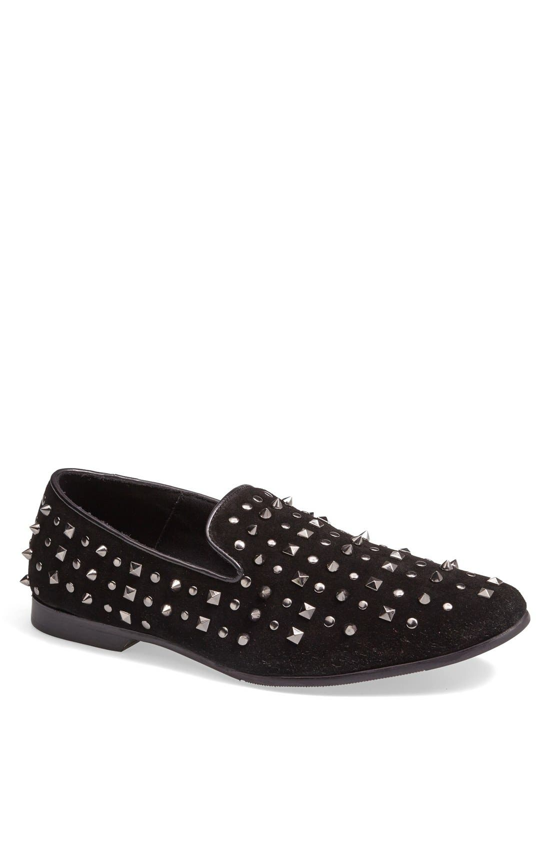 Alternate Image 1 Selected - ALDO 'Coyan' Studded Loafer