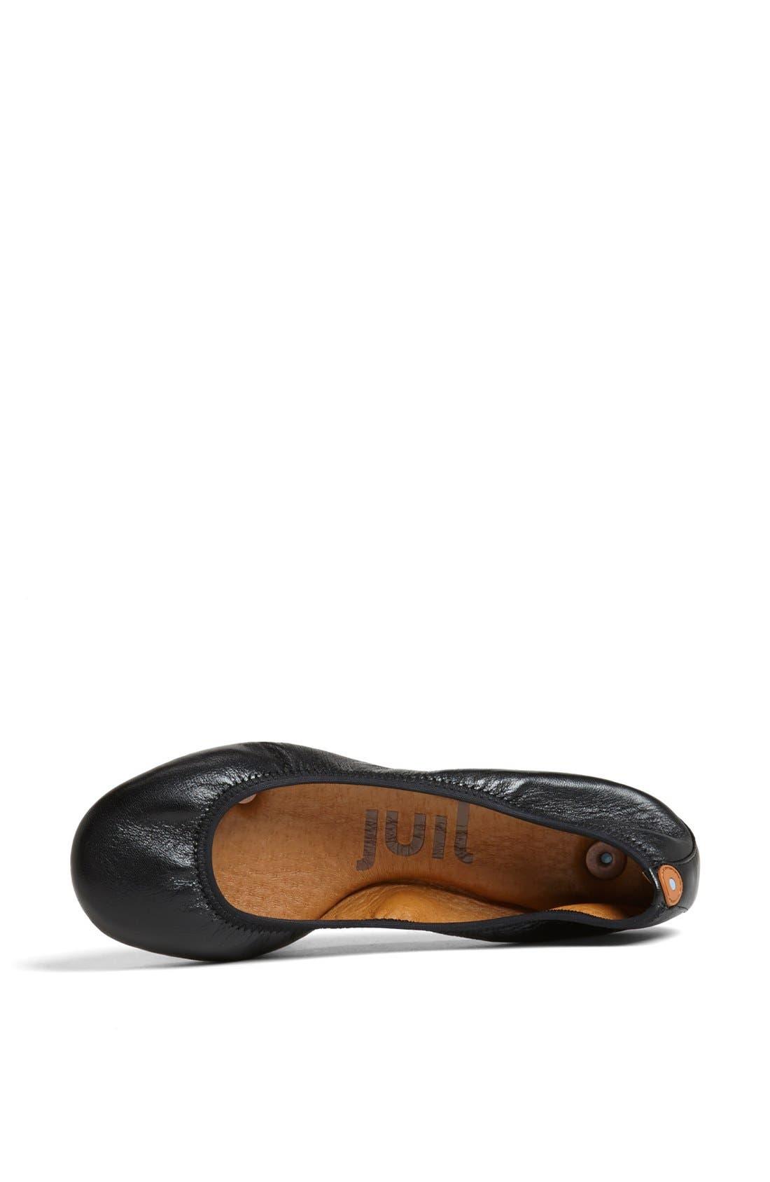 Alternate Image 3  - Juil 'The Flat' Earthing Leather Ballet Flat