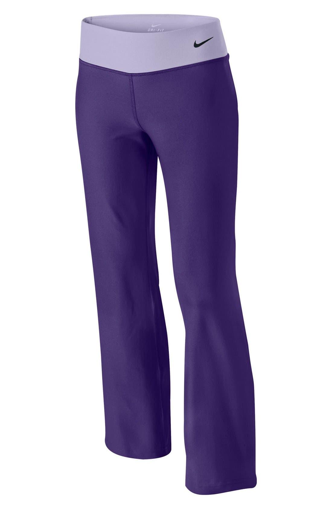 Alternate Image 1 Selected - Nike 'Legend' Pants (Big Girls)