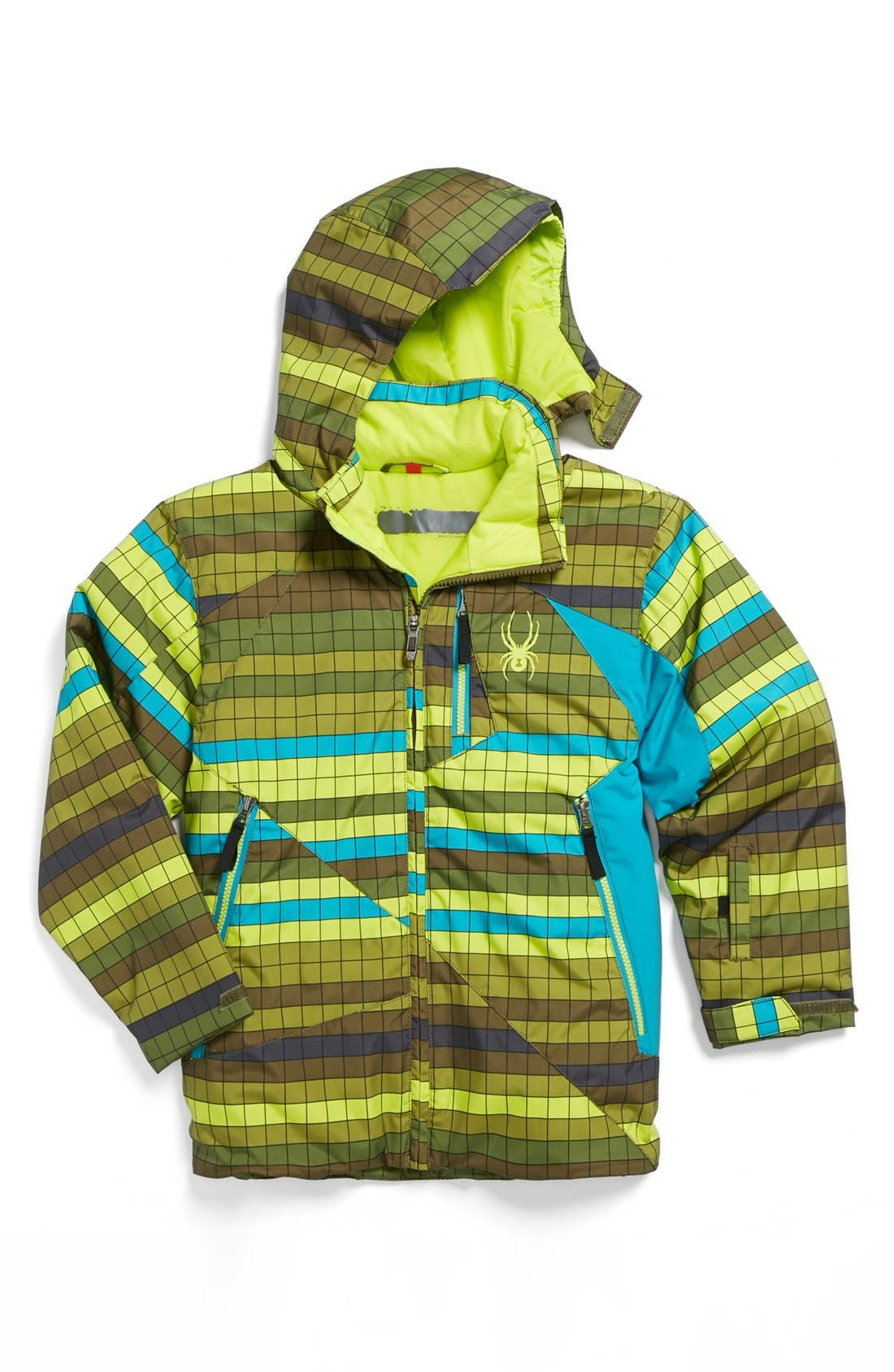 Alternate Image 1 Selected - Spyder 'Armageddon' Waterproof Snow Jacket (Little Boys)