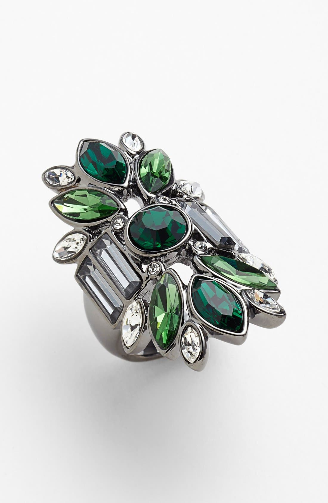 Alternate Image 1 Selected - Givenchy Crystal Cluster Ring (Nordstrom Exclusive)