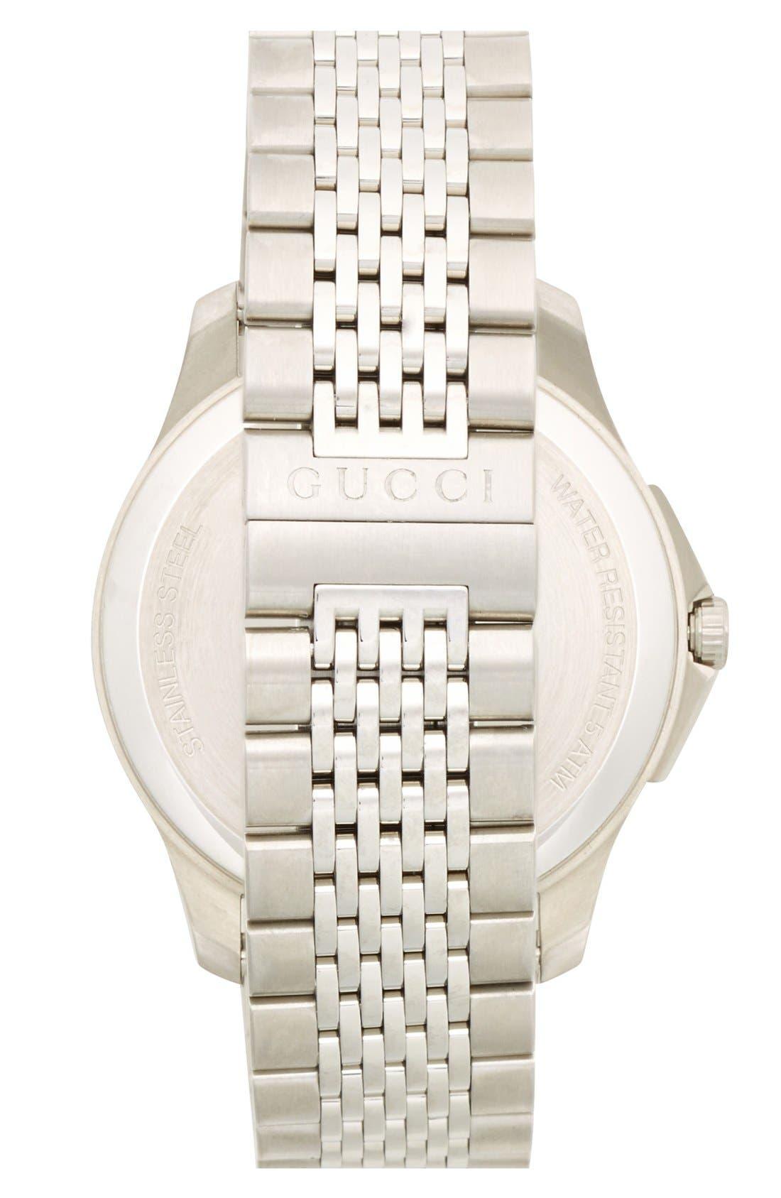 Alternate Image 4  - Gucci 'G-Timeless' Bracelet Watch, 40mm