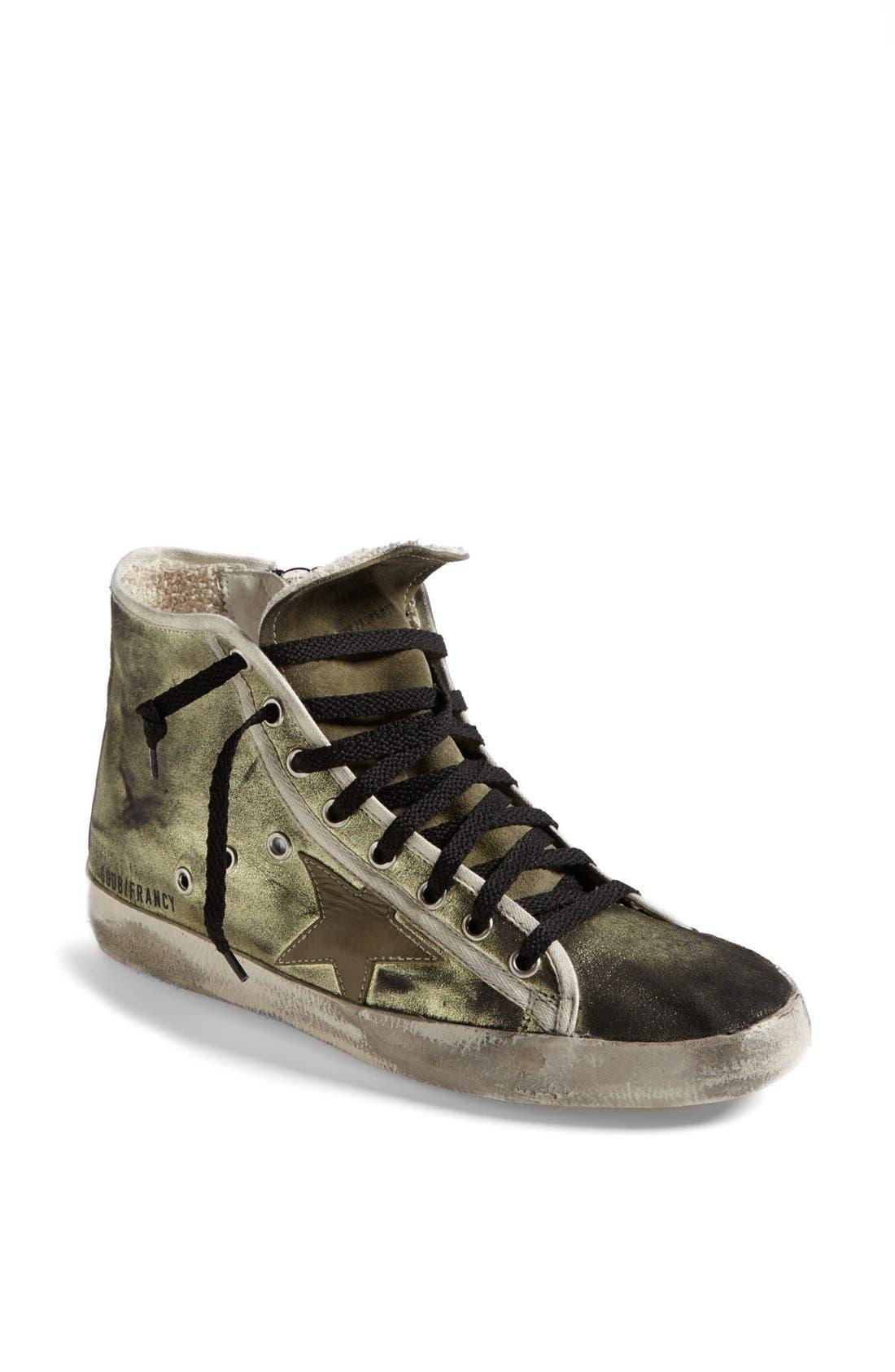 Alternate Image 1 Selected - Golden Goose 'Francy' High Top Sneaker