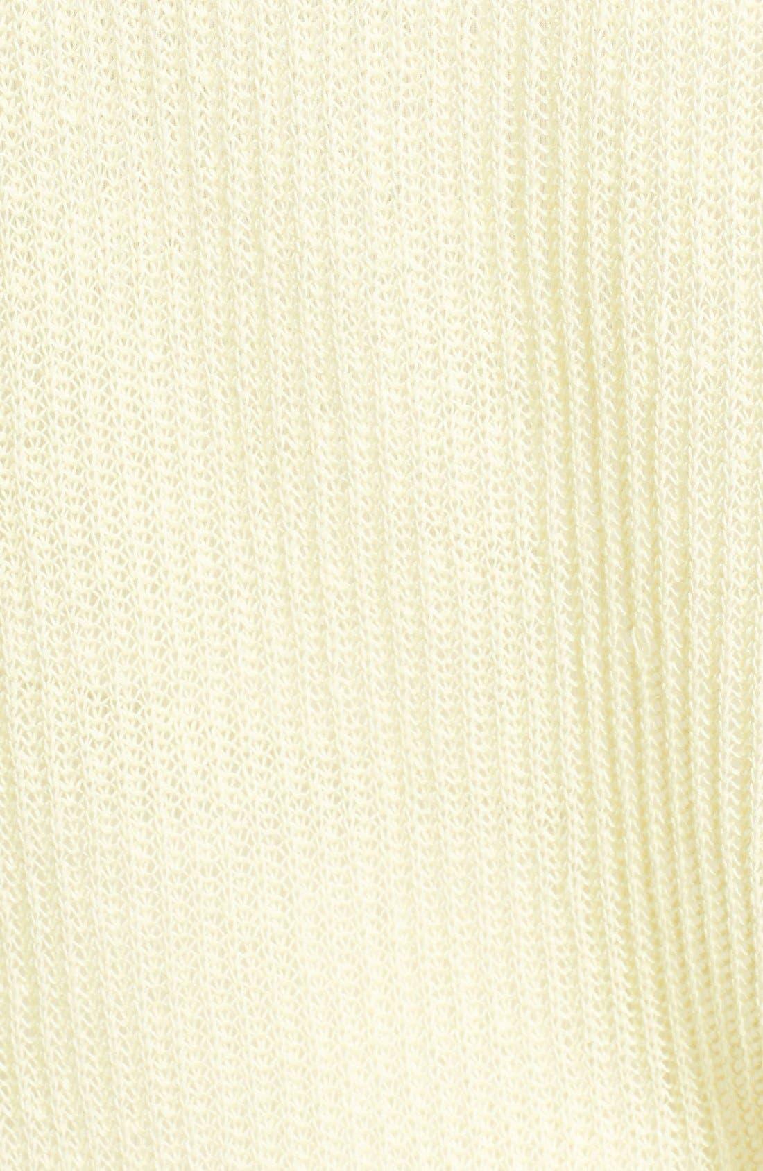 Alternate Image 3  - Eileen Fisher Three Quarter Sleeve Linen Sweater (Regular & Petite)