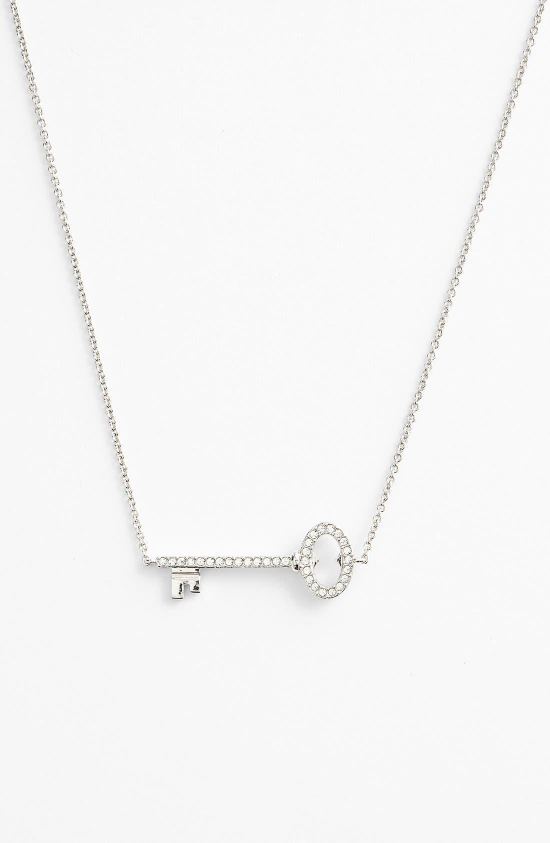 Alternate Image 1 Selected - Nadri Boxed Pavé Key Pendant Necklace
