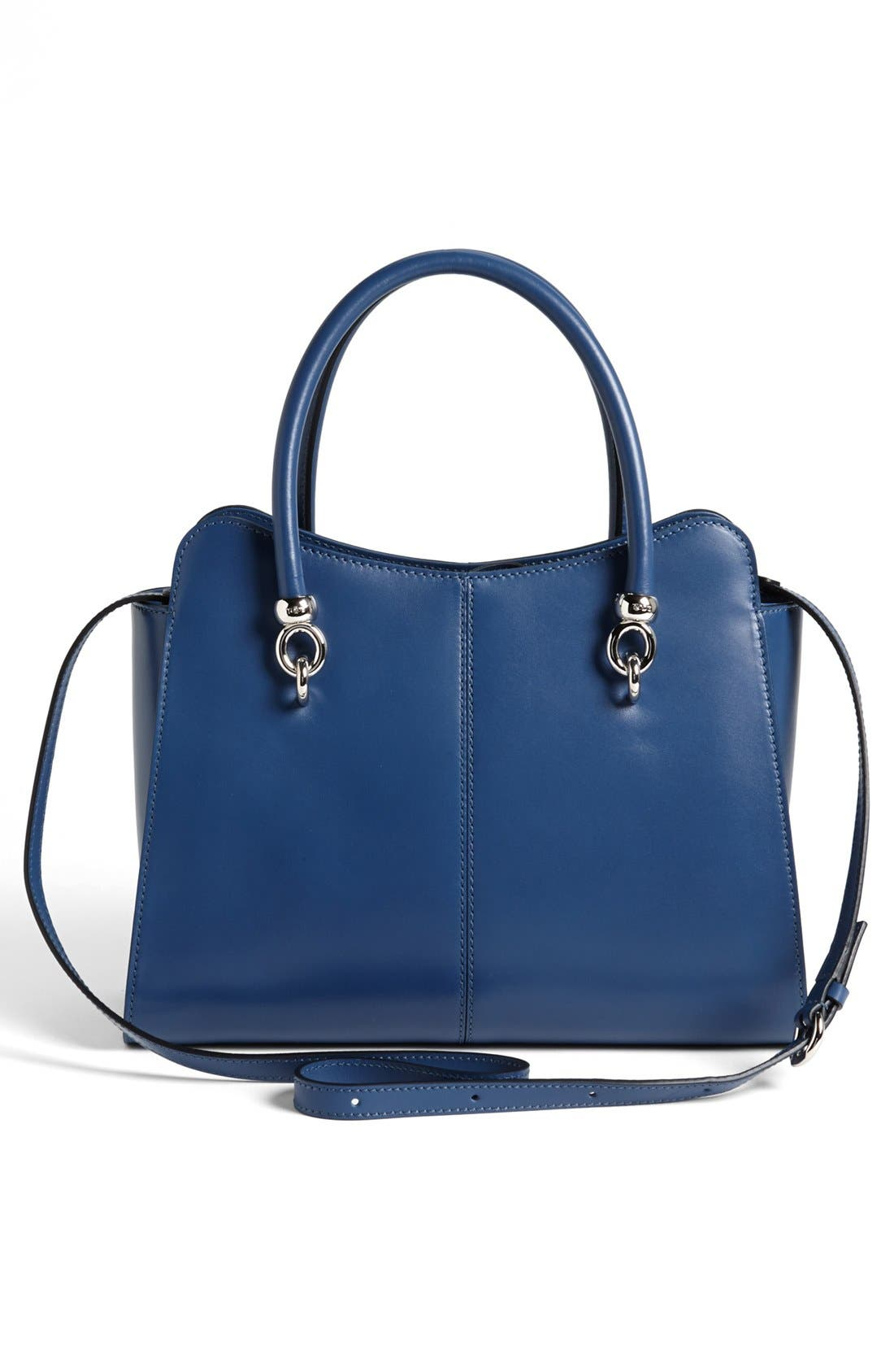 Alternate Image 4  - Tod's 'Sella' Leather Shopper