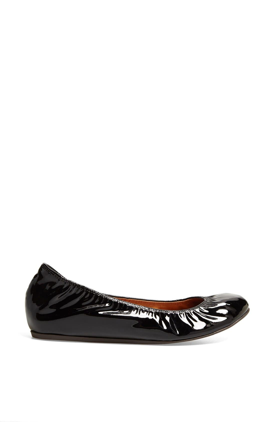 Alternate Image 4  - Lanvin Patent Leather Ballerina Flat