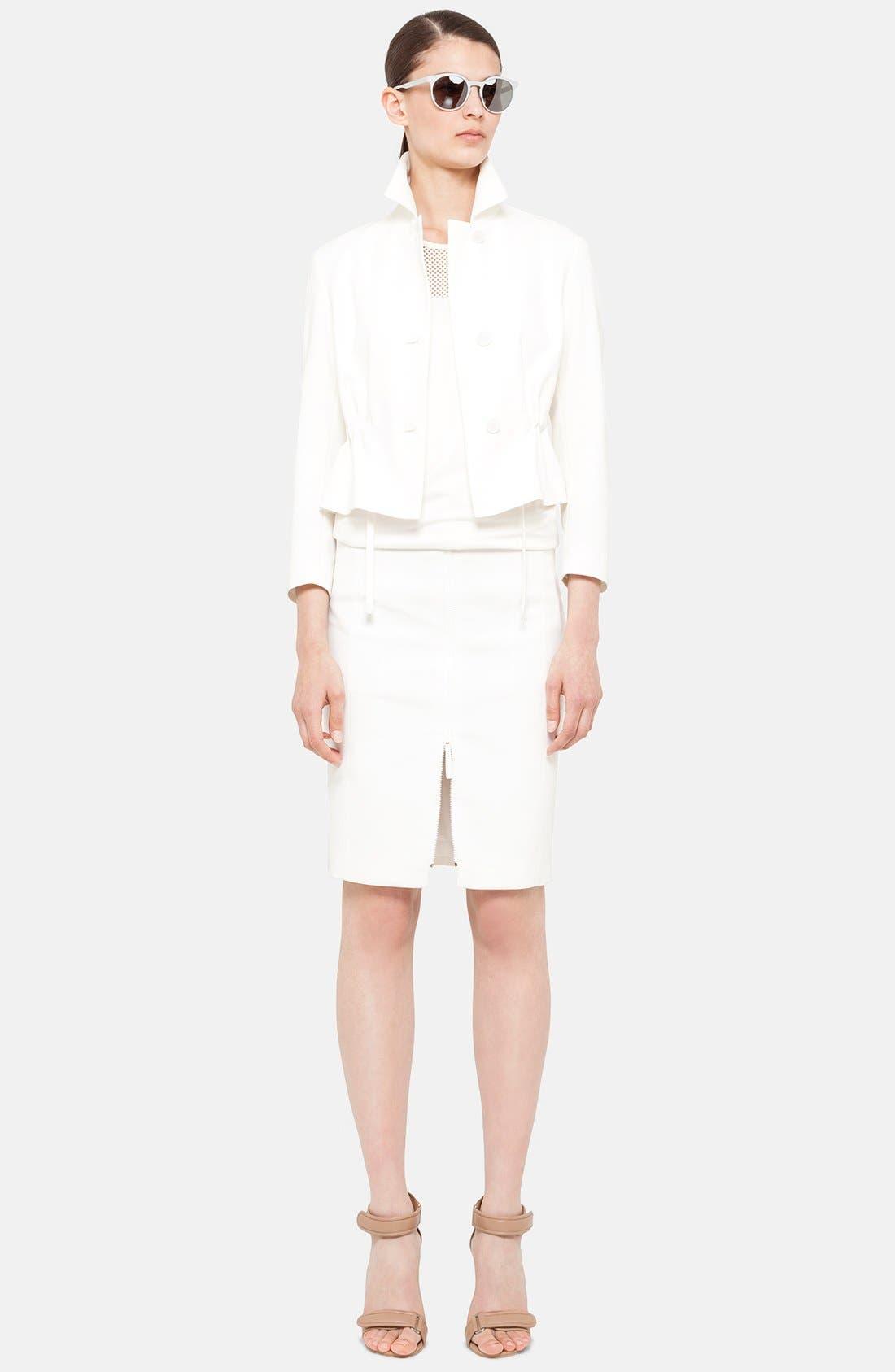 Alternate Image 3  - Akris punto Front Zip Techno Skirt