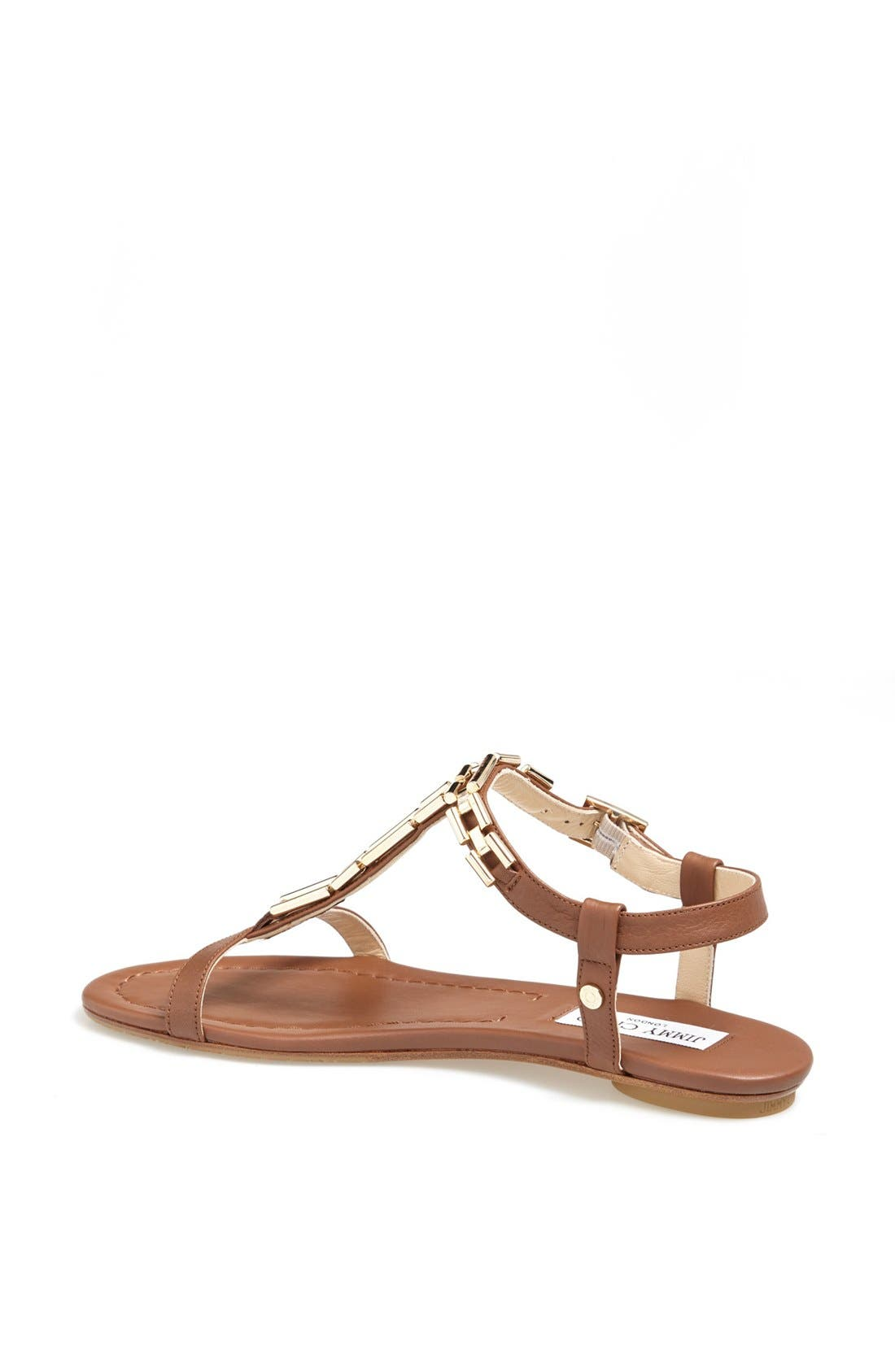 Alternate Image 2  - Jimmy Choo 'Narcissa' Chain T-Strap Sandal