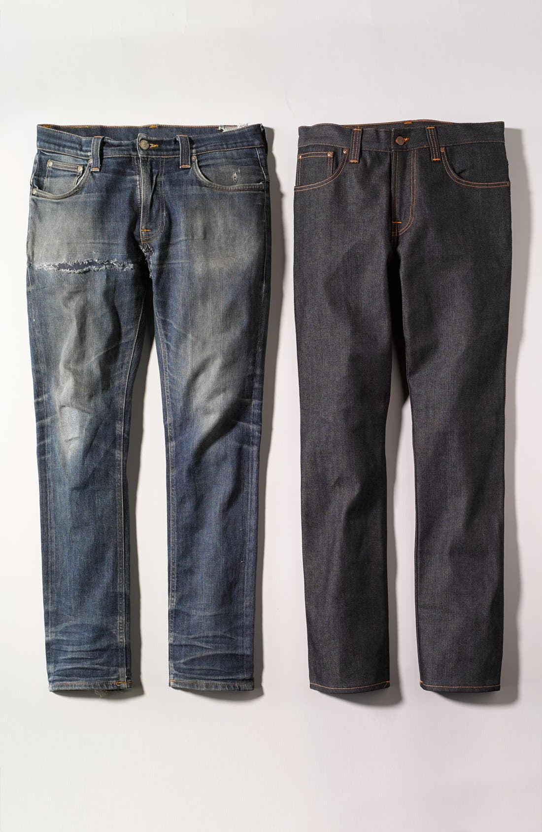 Alternate Image 5  - Nudie Jeans 'Slim Jim' Slim Fit Jeans (Organic Dry Broken Twill)