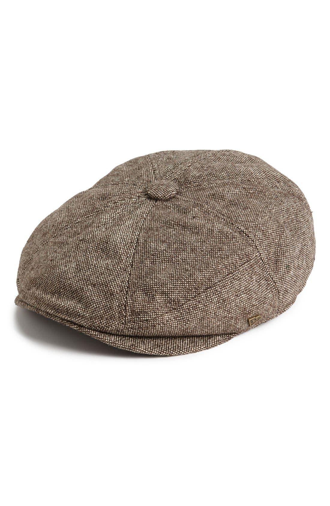 Main Image - New Era Cap 'EK®' Tweed Driving Cap