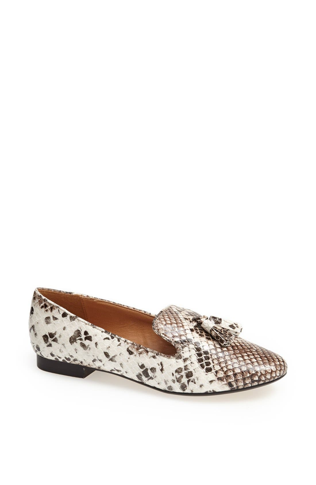 Alternate Image 1 Selected - Topshop 'Marseille' Tassel Flat