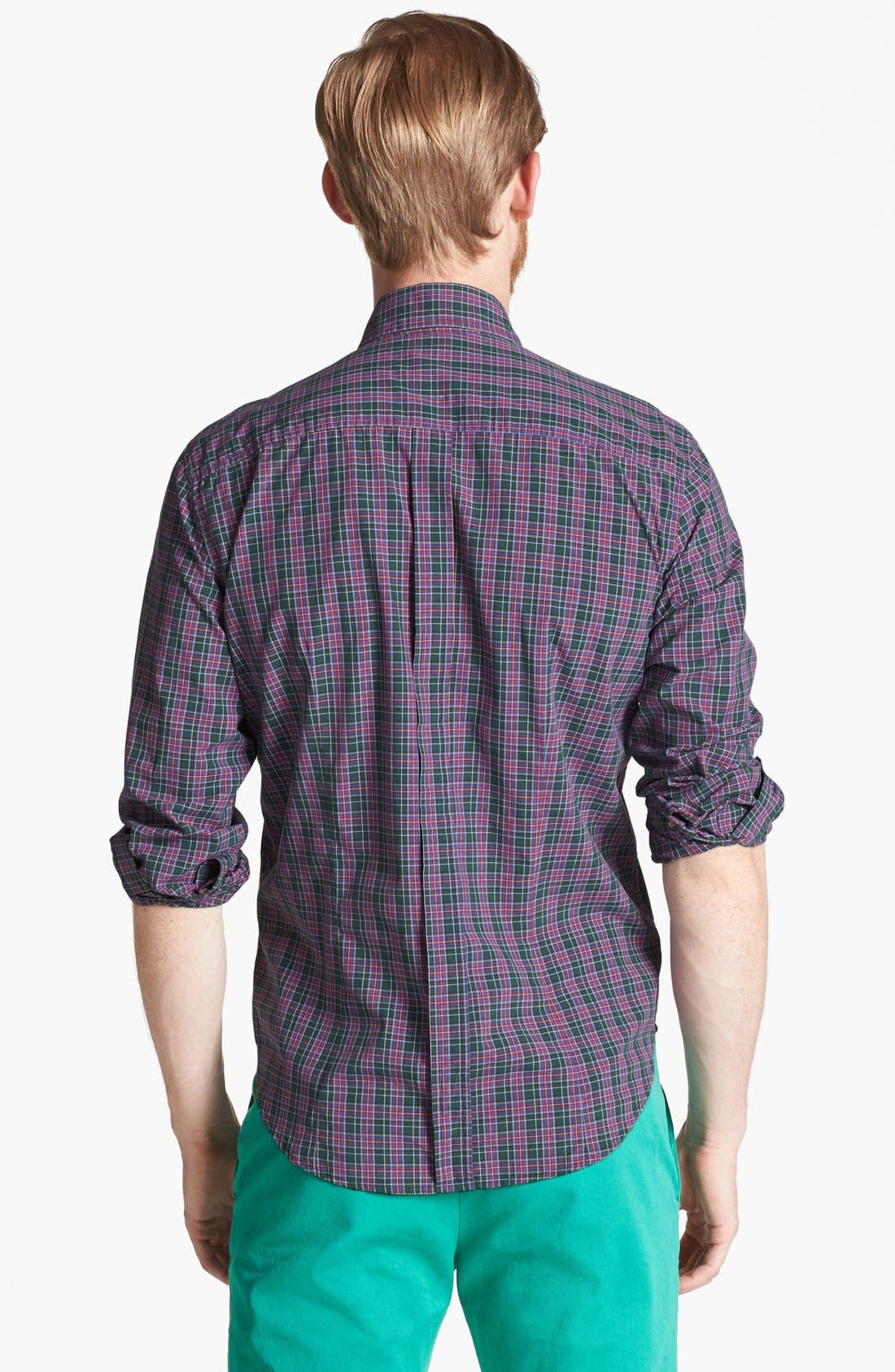 Alternate Image 2  - Band of Outsiders 'Ranger' Plaid Cotton Shirt