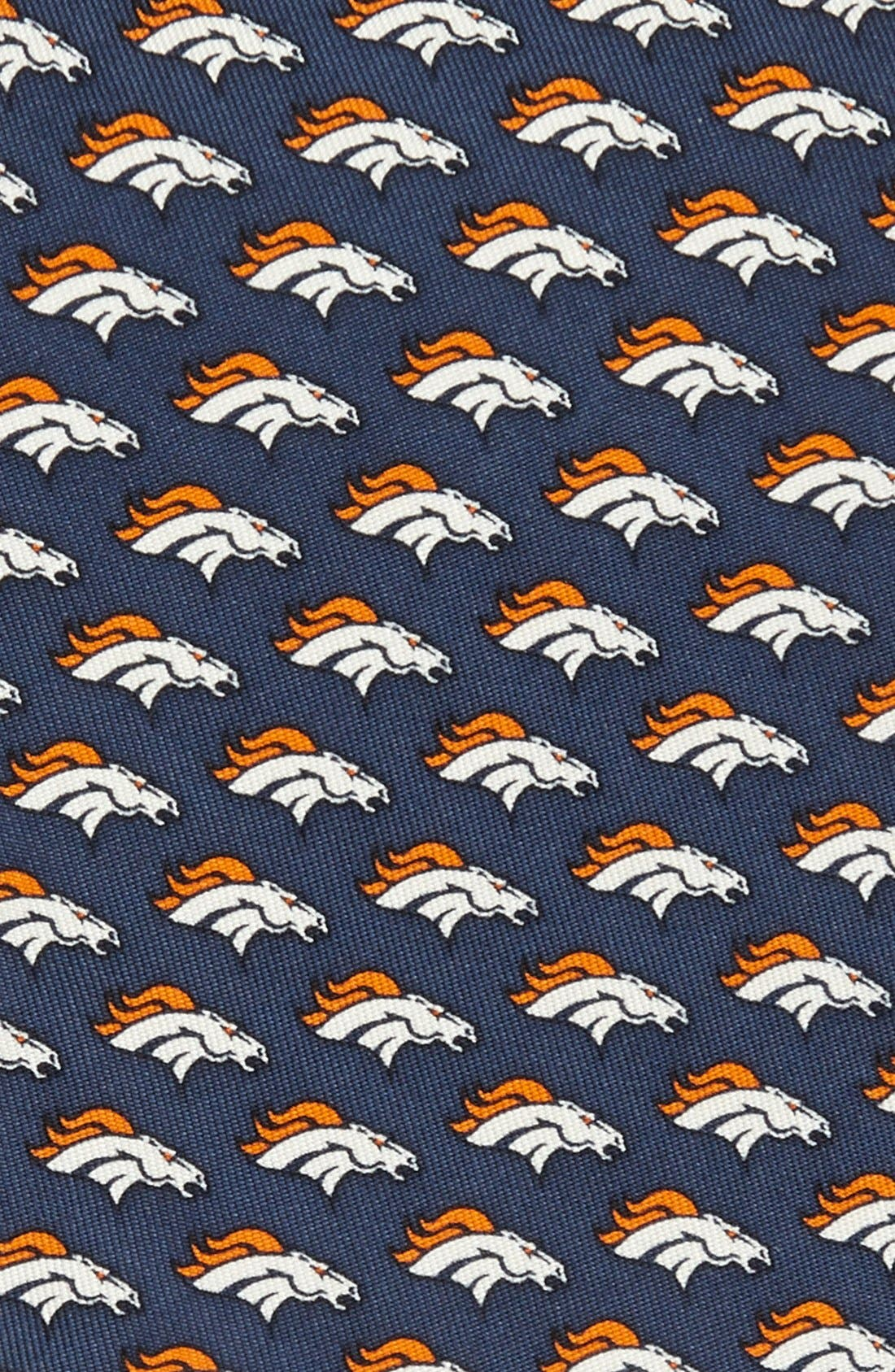 Alternate Image 2  - vineyard vines Denver Broncos Print Tie