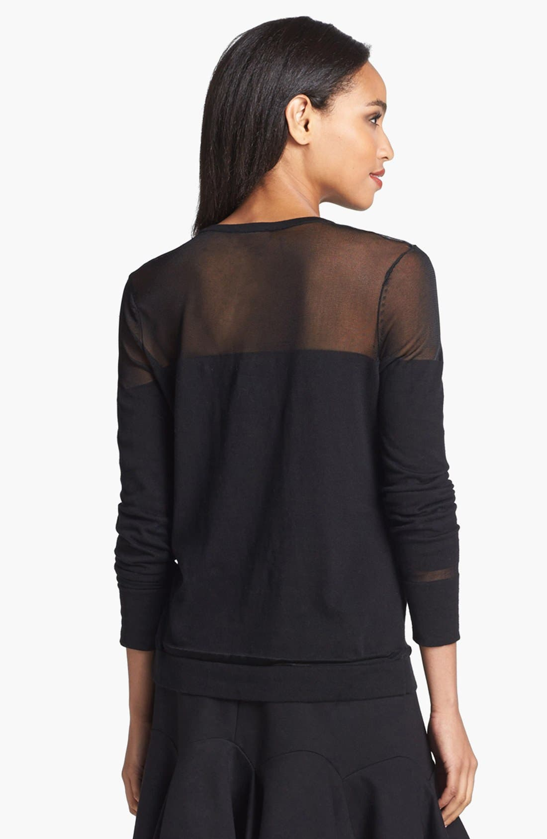 Alternate Image 2  - Vince Camuto Illusion Mix Sweater (Regular & Petite)