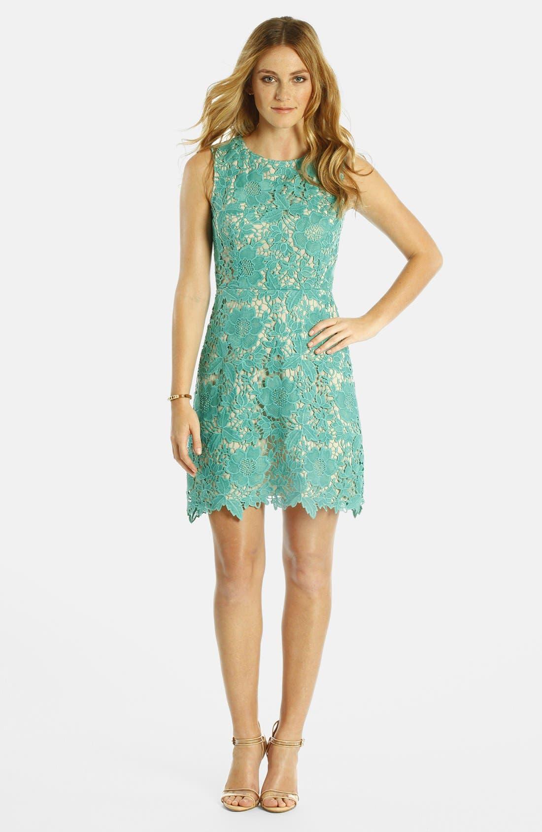 Main Image - LABEL by five twelve Lace A-Line Dress