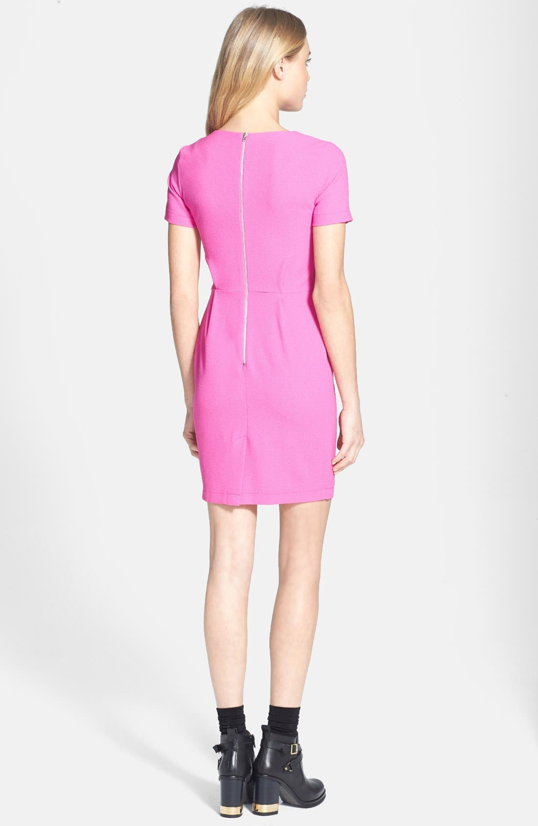 Alternate Image 2  - Topshop 'Elfin' Crepe Dress