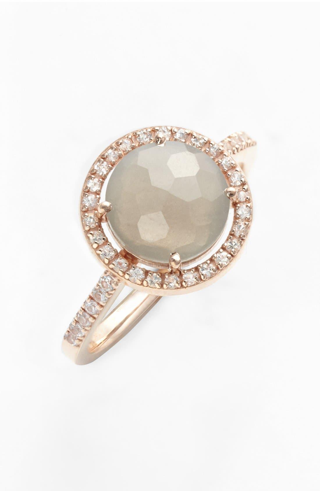 Alternate Image 1 Selected - KALAN by Suzanne Kalan Round Stone & Sapphire Ring