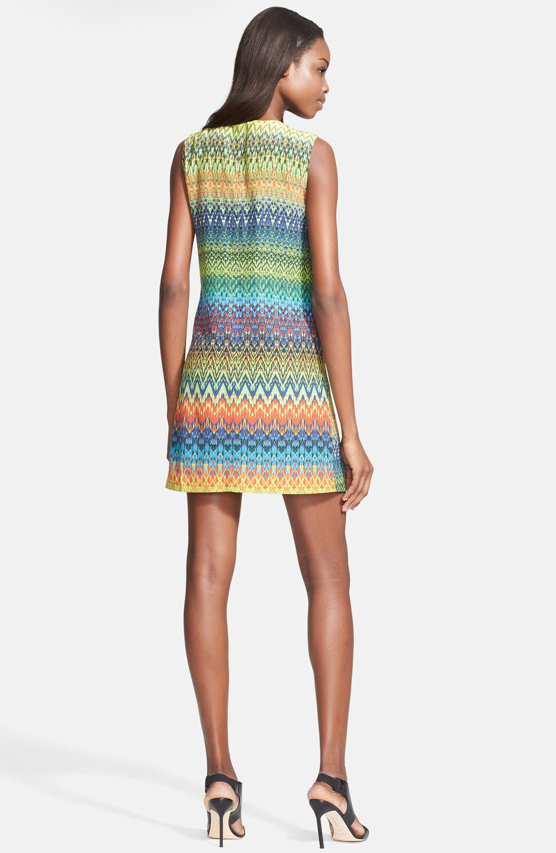 Alternate Image 2  - M Missoni Print Silk Shift Dress