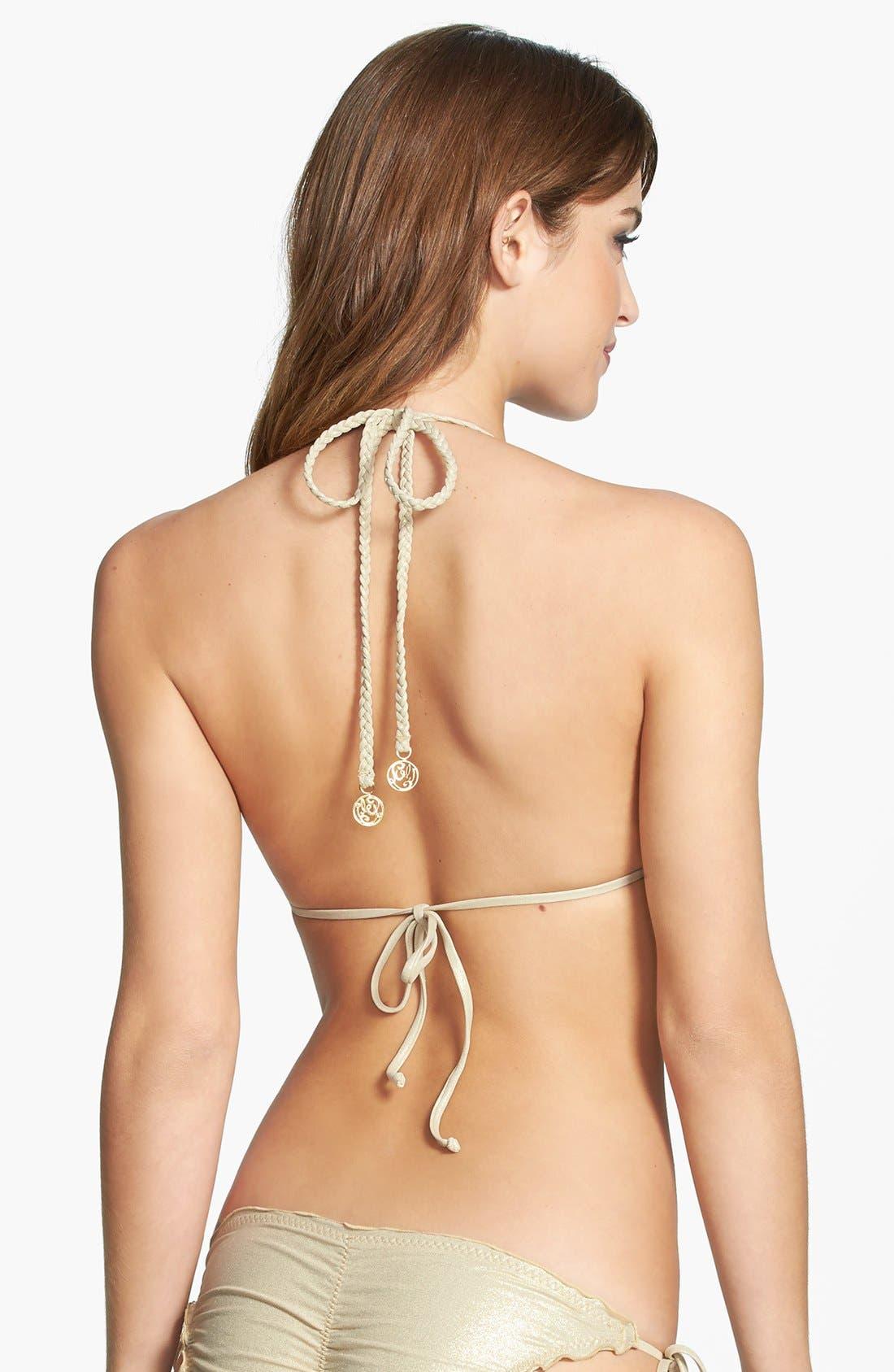 'La Fama' Triangle Bikini Top,                             Alternate thumbnail 2, color,                             Multi