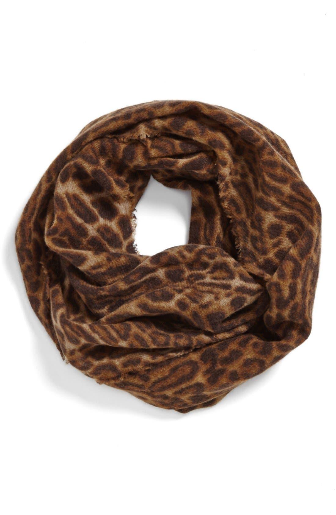 Alternate Image 1 Selected - Lauren Ralph Lauren Wool Infinity Scarf