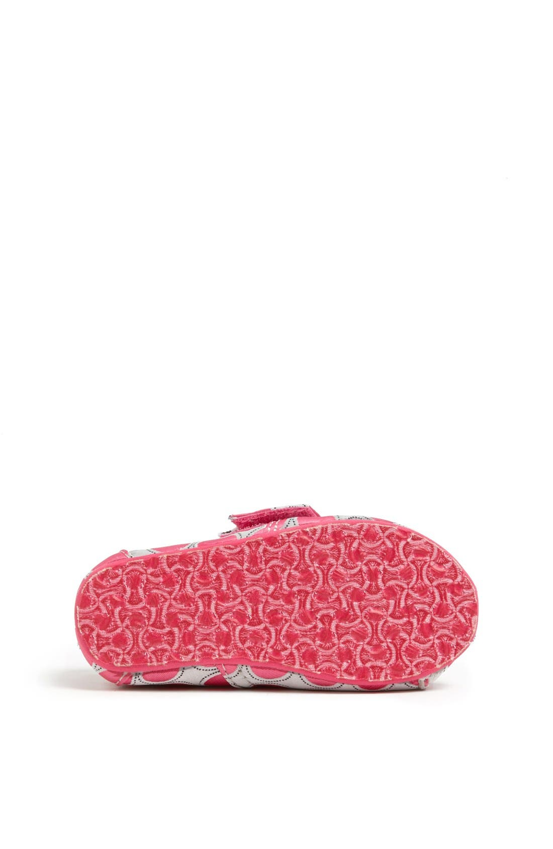 Alternate Image 4  - TOMS 'Classic - Tiny' Polka Dot Slip-On (Baby, Walker & Toddler)