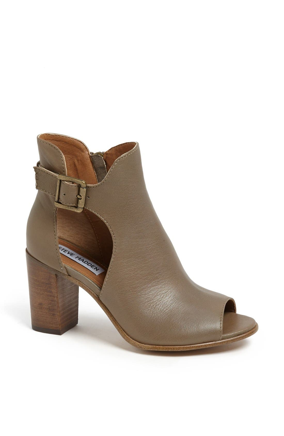 Alternate Image 1 Selected - Steve Madden 'Nextstar' Peep Toe Bootie