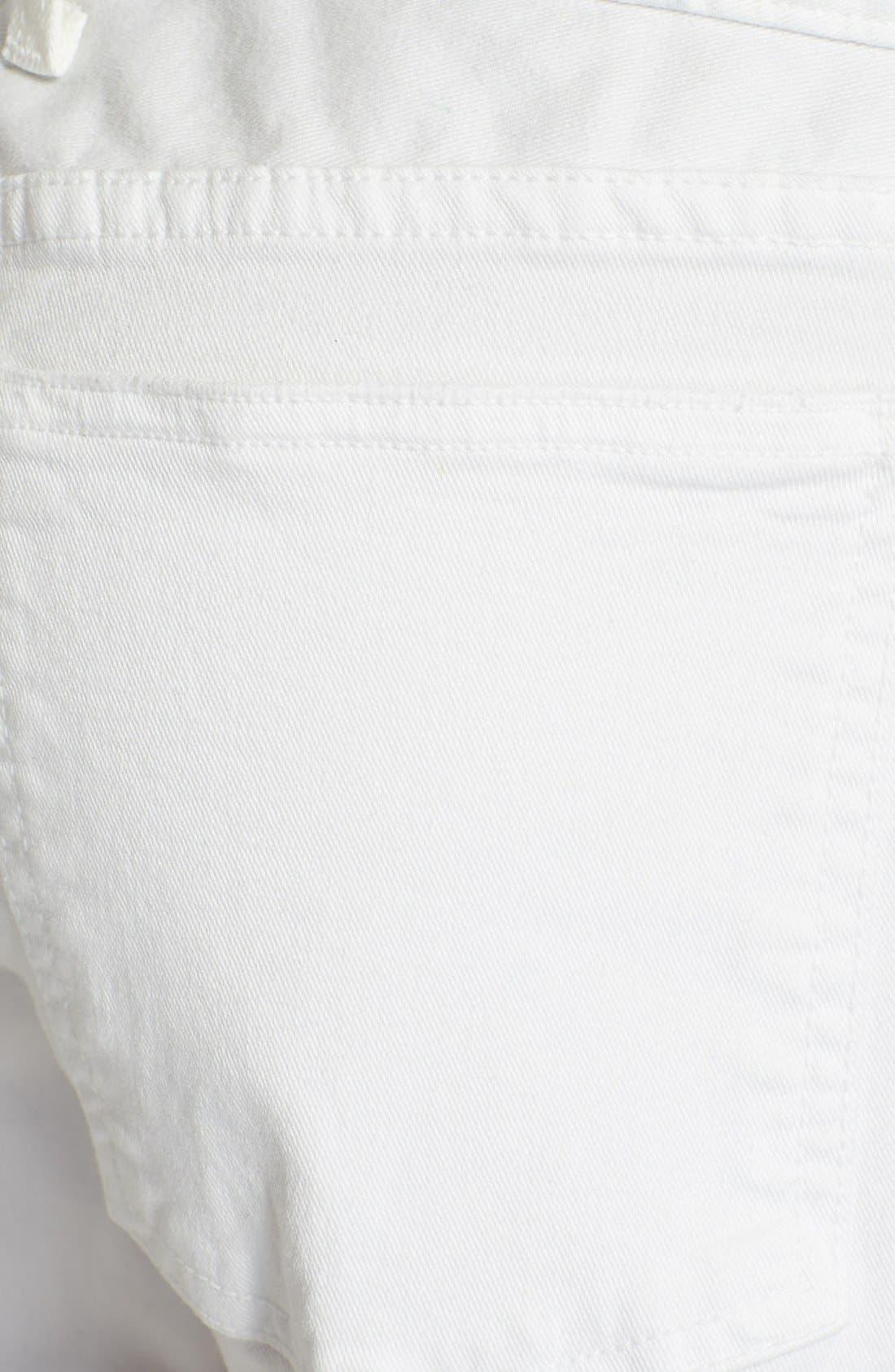 Alternate Image 3  - Current/Elliott 'The Boyfriend' Rolled Shorts (Sugar)