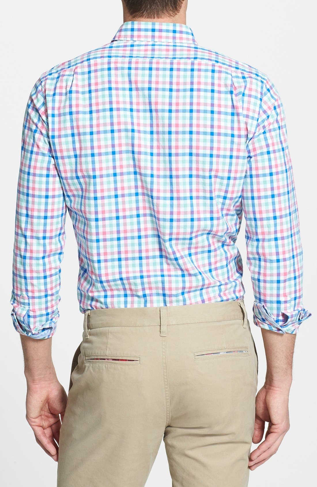 Alternate Image 2  - Bonobos 'Hile' Slim Fit Tattersall Sport Shirt