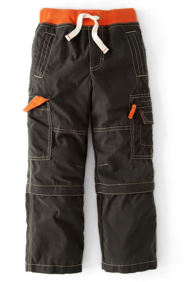 Mini Boden Zip Off Cargo Pants Toddler Boys Little Boys