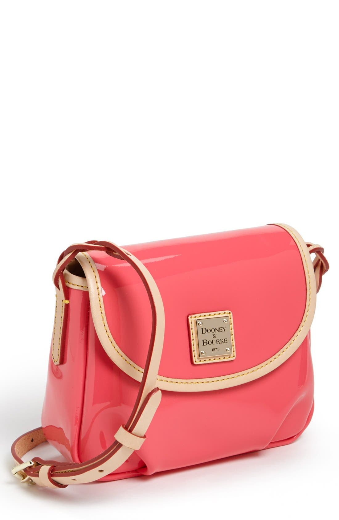 Alternate Image 1 Selected - Dooney & Bourke Patent Leather Crossbody Bag