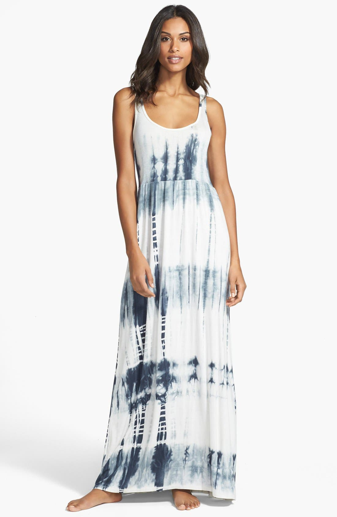 Main Image - Daniel Buchler Tie Dye Maxi Dress