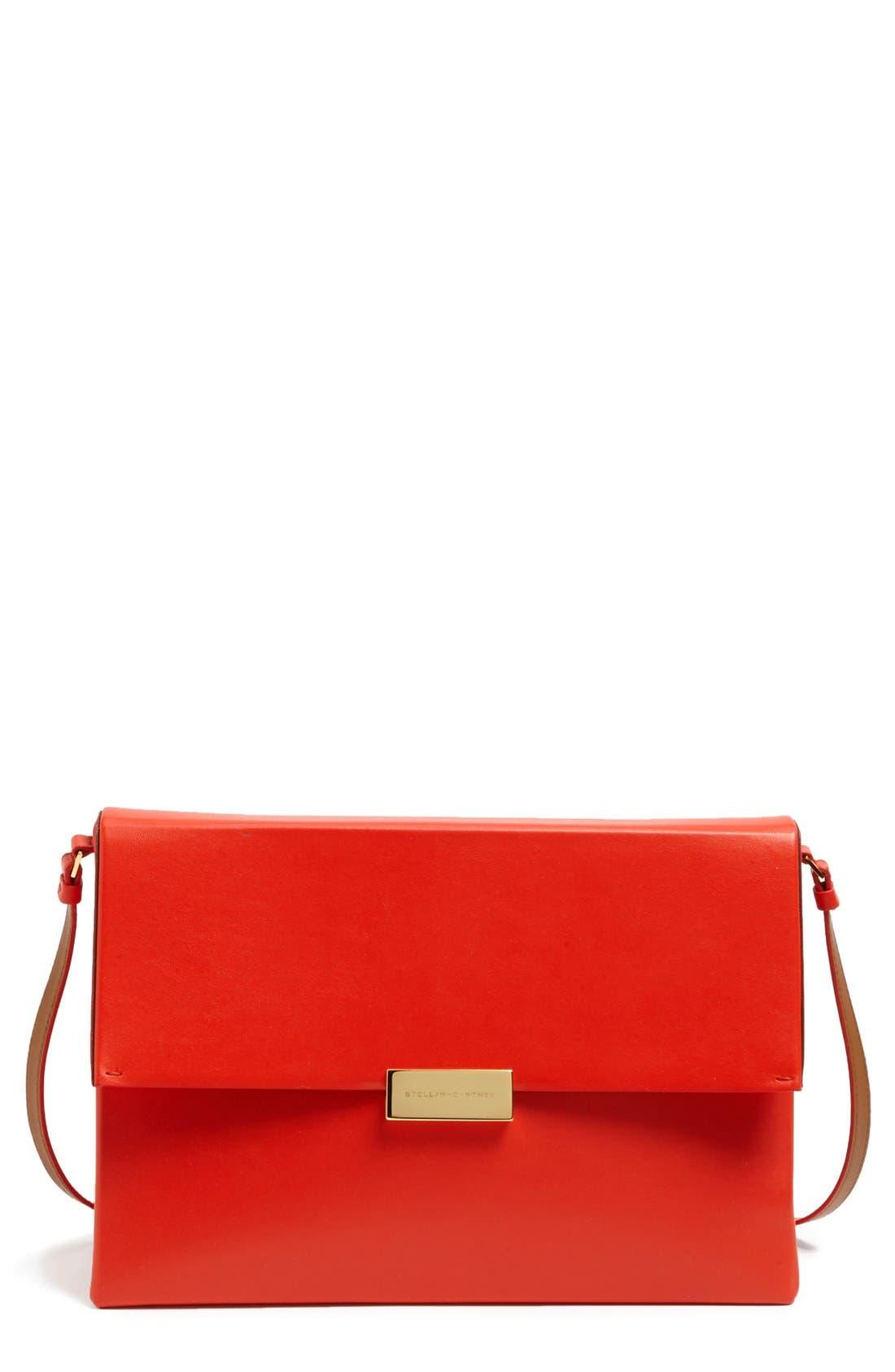 Main Image - Stella McCartney 'Beckett' Faux Nappa Shoulder Bag