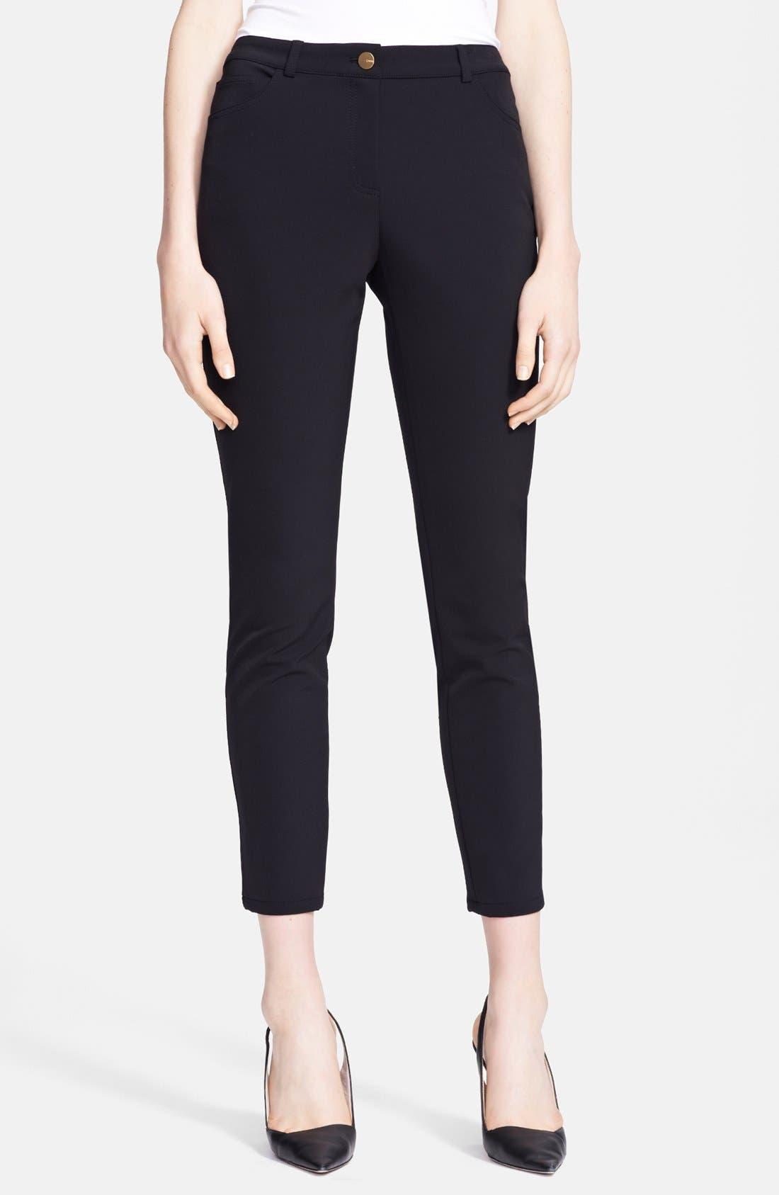 Alternate Image 1 Selected - ESCADA Skinny Techno Jeans