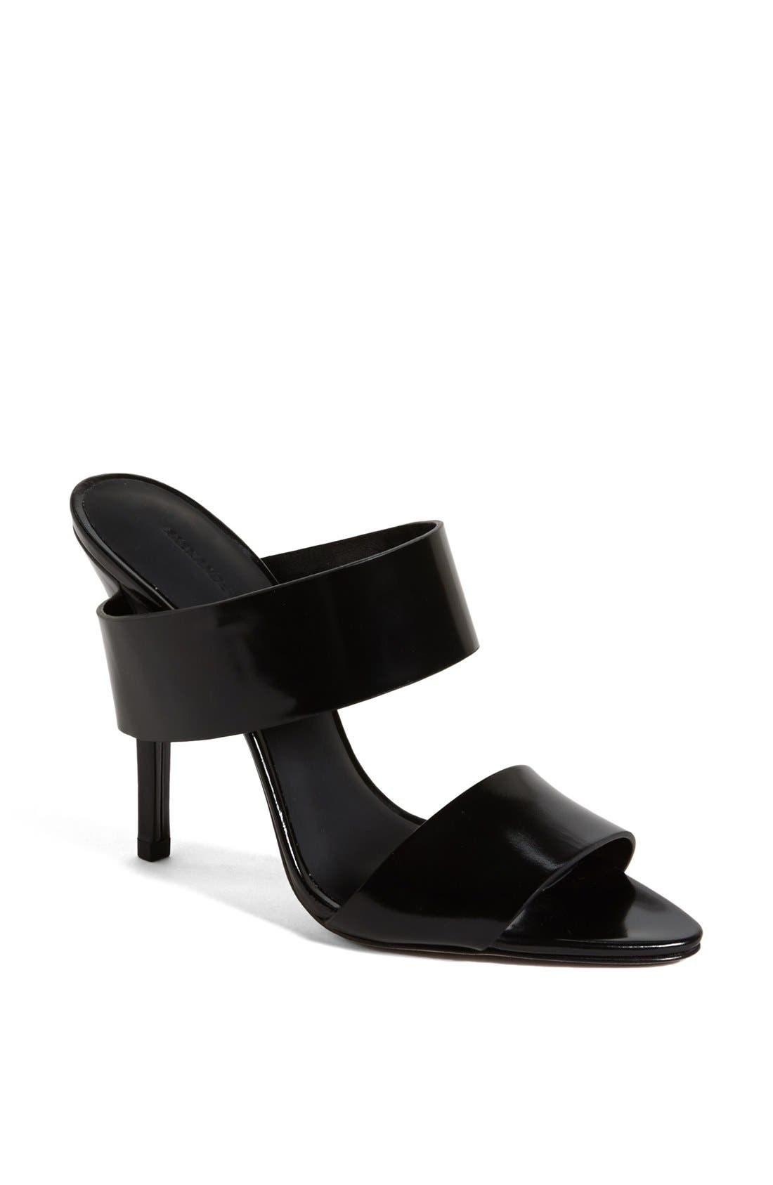 Alternate Image 1 Selected - Alexander Wang 'Marsha' Open Toe Mule Sandal