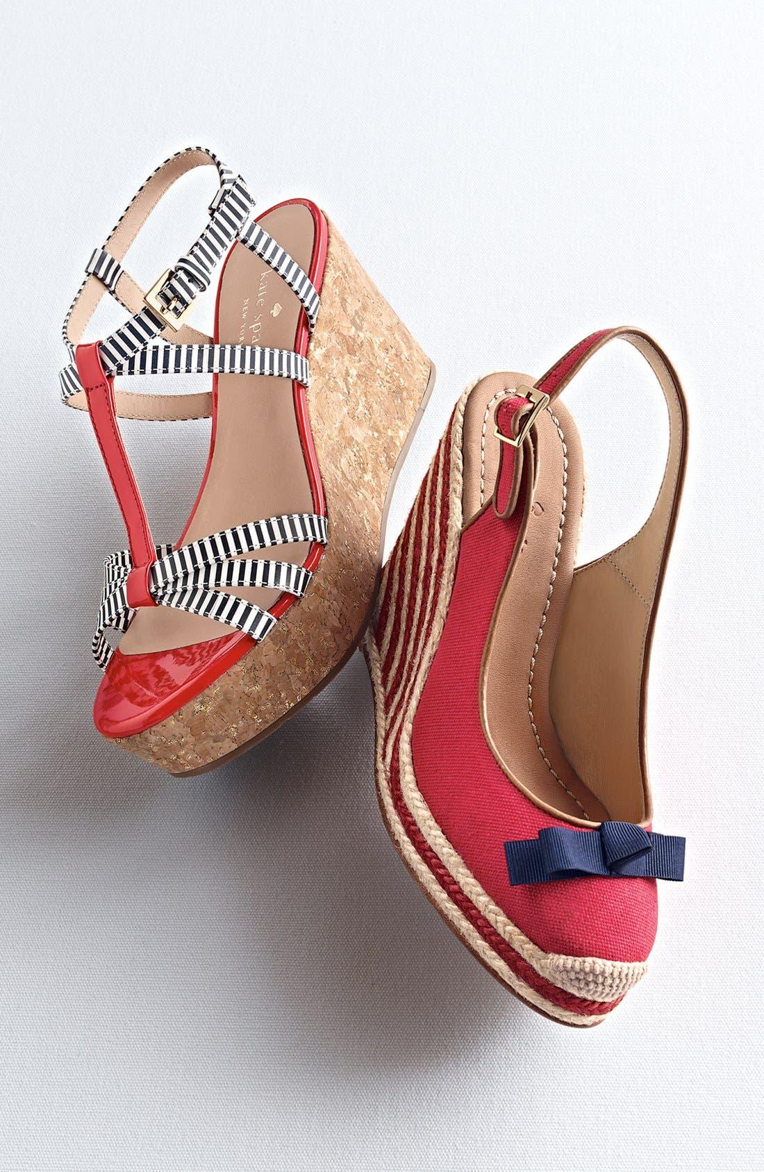 Alternate Image 5  - kate spade new york 'tropez' wedge platform sandal