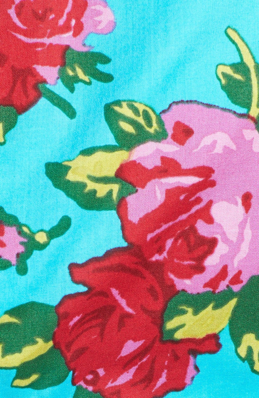 Alternate Image 4  - Betsey Johnson Floral Fit & Flare Dress
