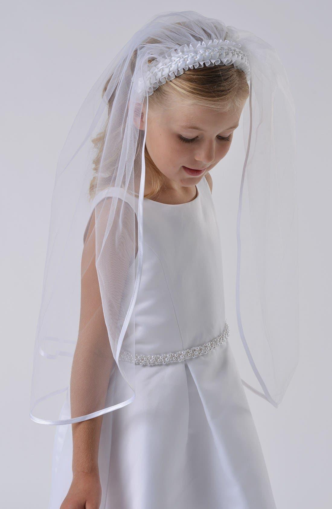 Alternate Image 1 Selected - Us Angels Communion Veil