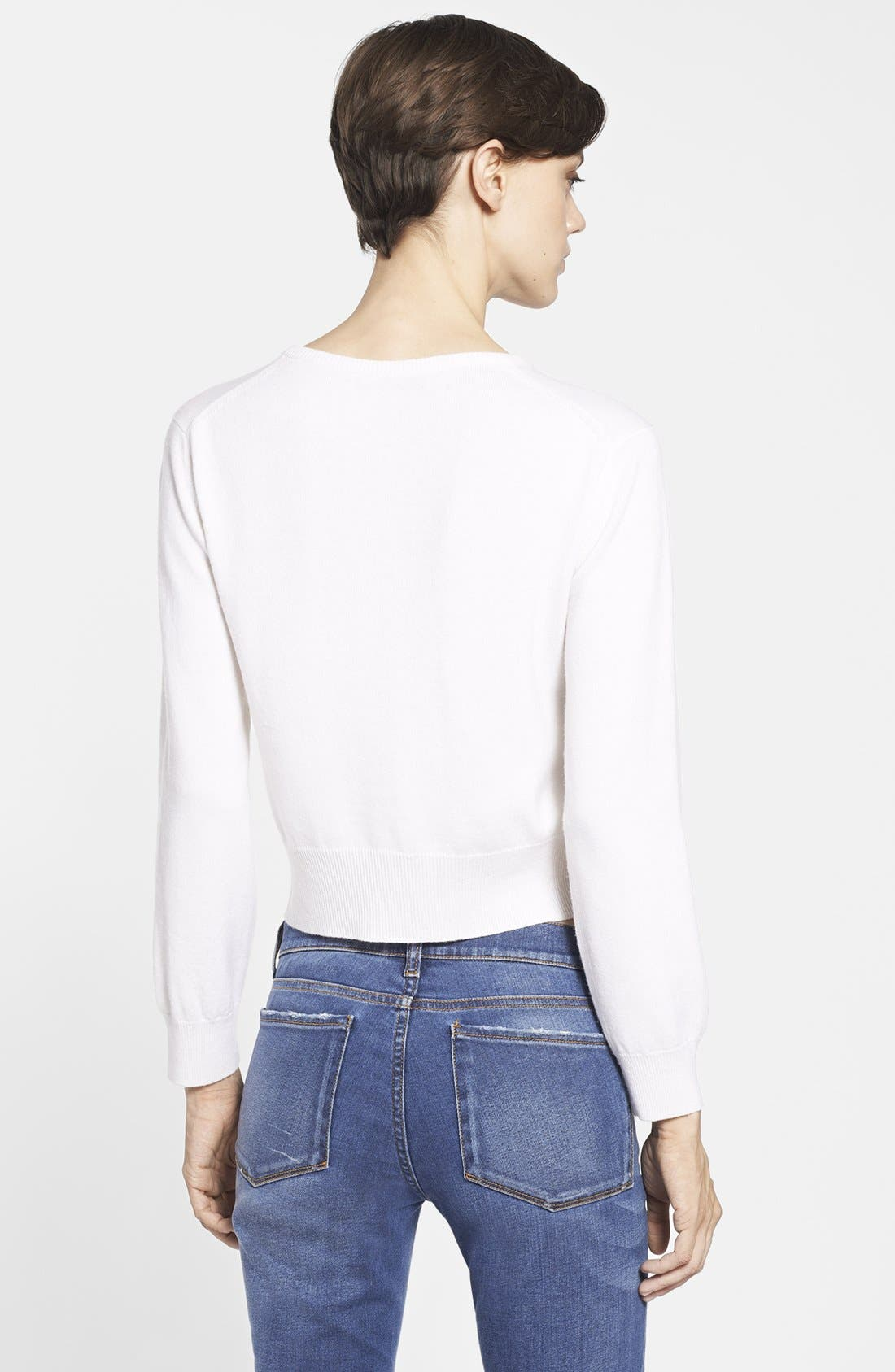 Alternate Image 2  - Christopher Kane 'Buttercup' Cashmere Sweater