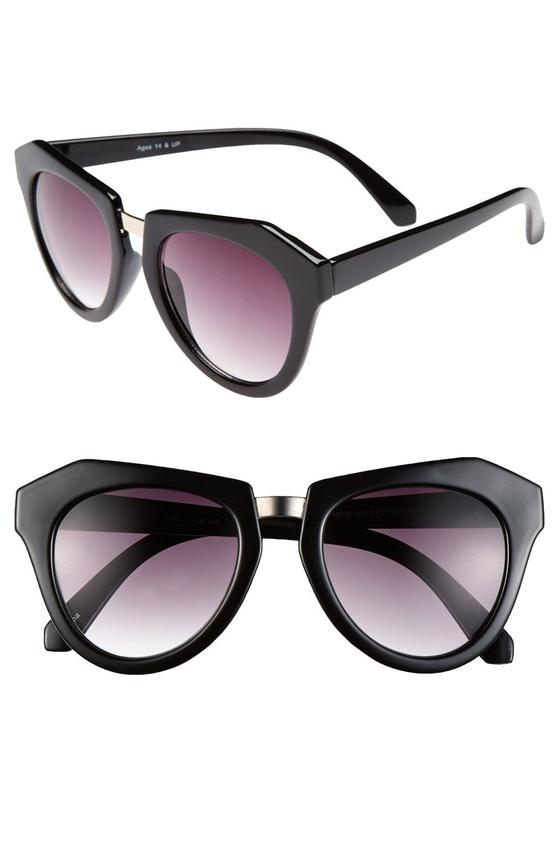 Main Image - FE NY 'Contour' 50mm Sunglasses