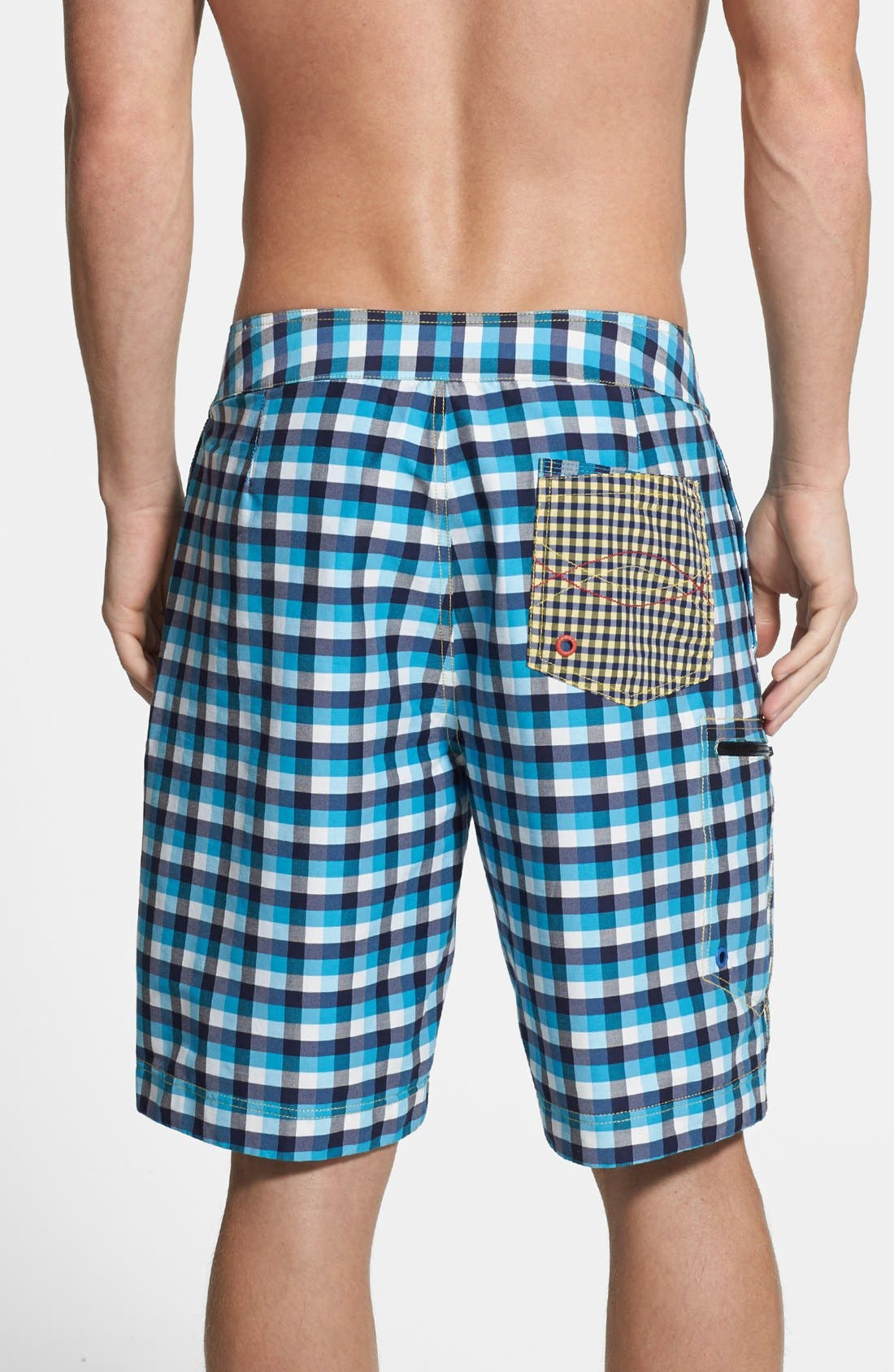 Alternate Image 2  - Robert Graham 'Williamson' Classic Fit Board Shorts