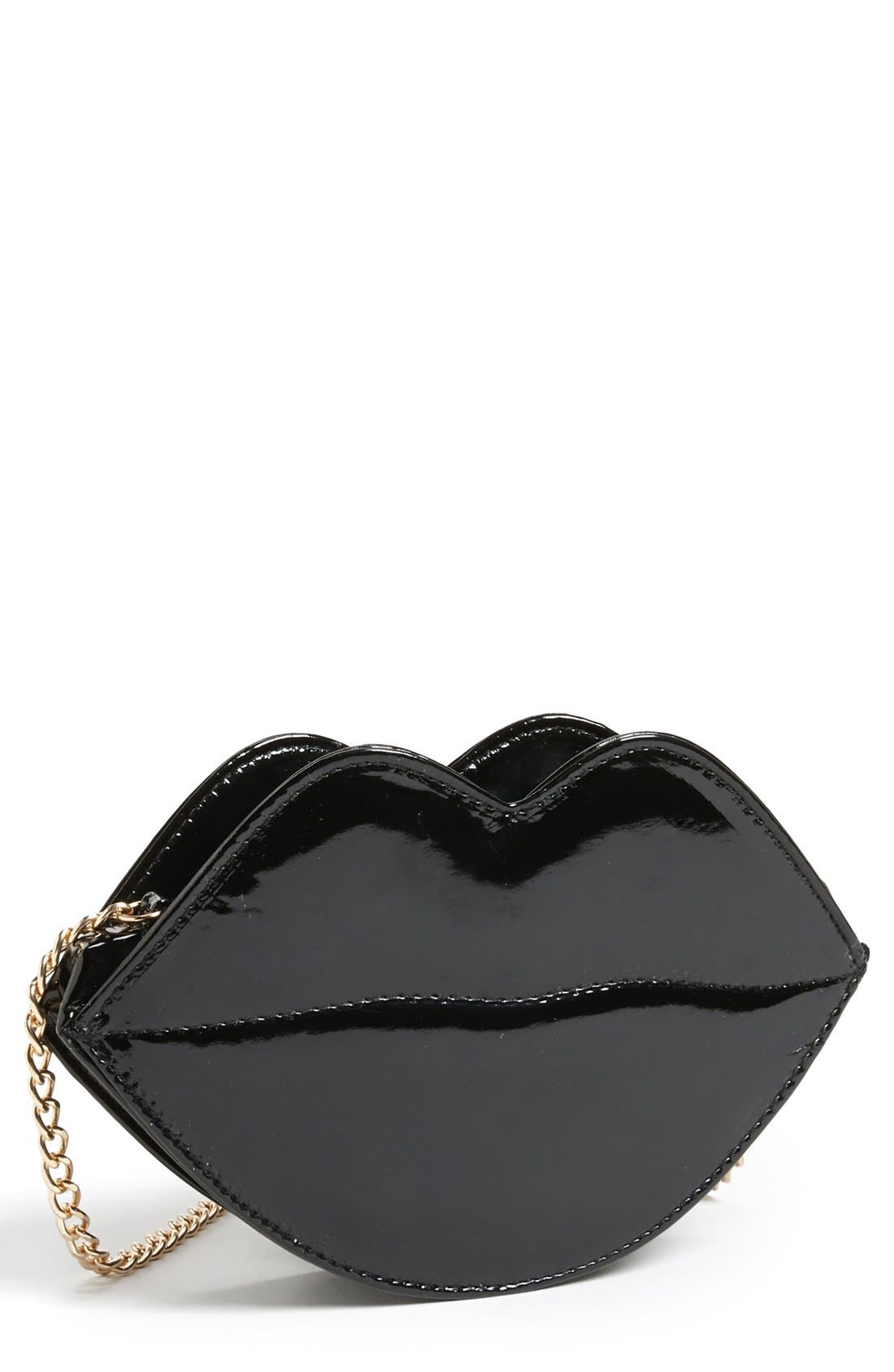 Main Image - Super Trader 'Lips' Clutch (Juniors) (Online Only)