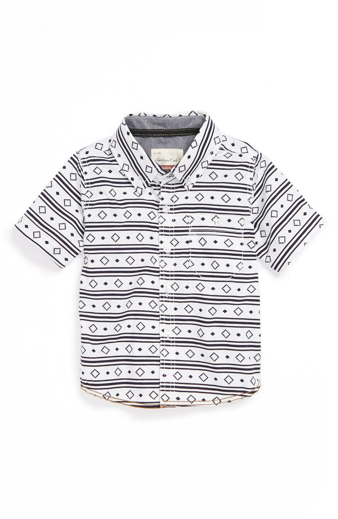 Alternate Image 1 Selected - Sovereign Code Woven Shirt (Toddler Boys)