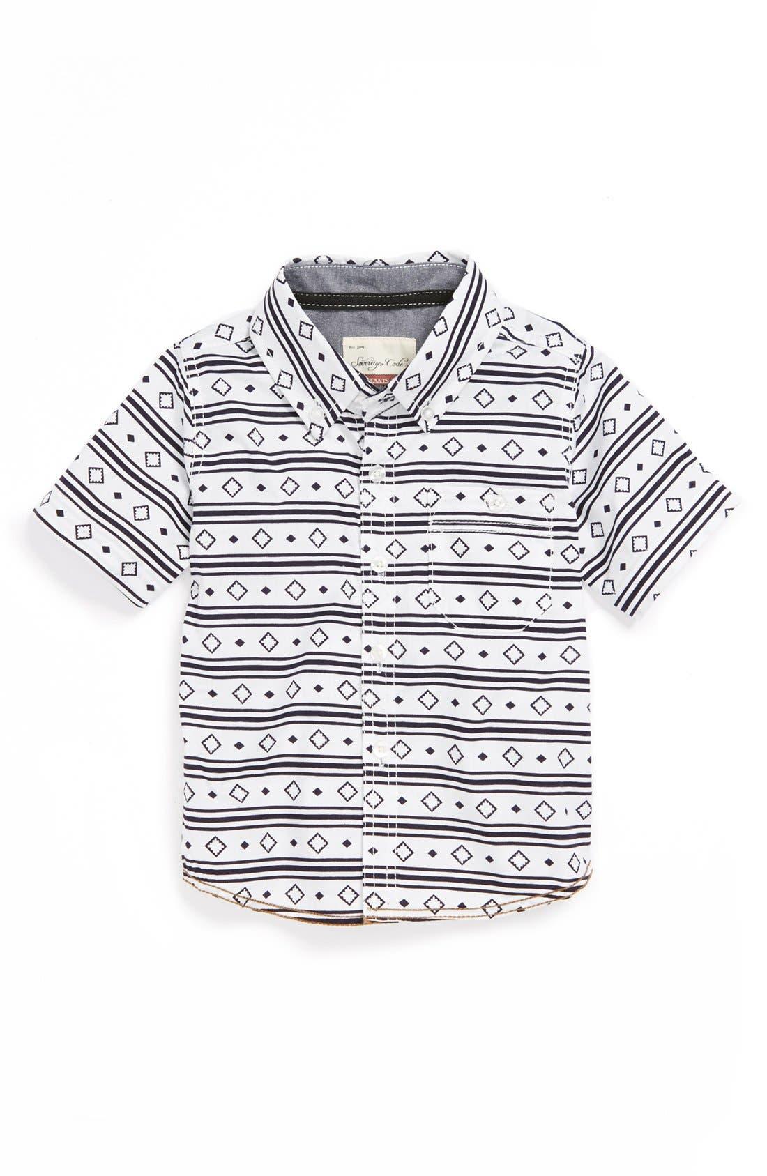 Main Image - Sovereign Code Woven Shirt (Toddler Boys)