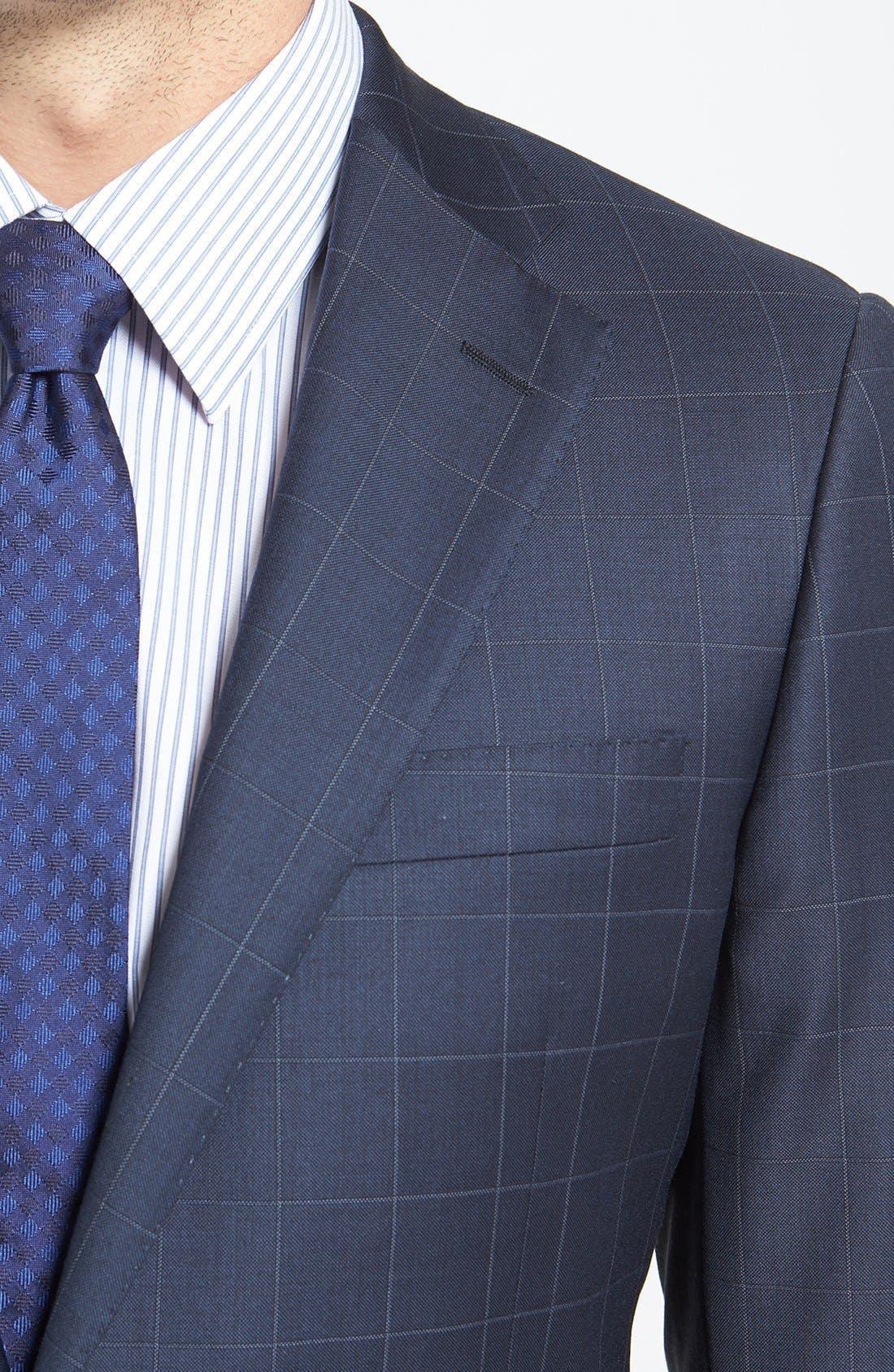 Alternate Image 5  - BEACON WINDOWPANE 2BTN SUIT