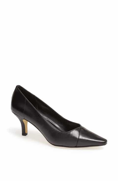 Women's Black Kitten Heel Pumps | Nordstrom