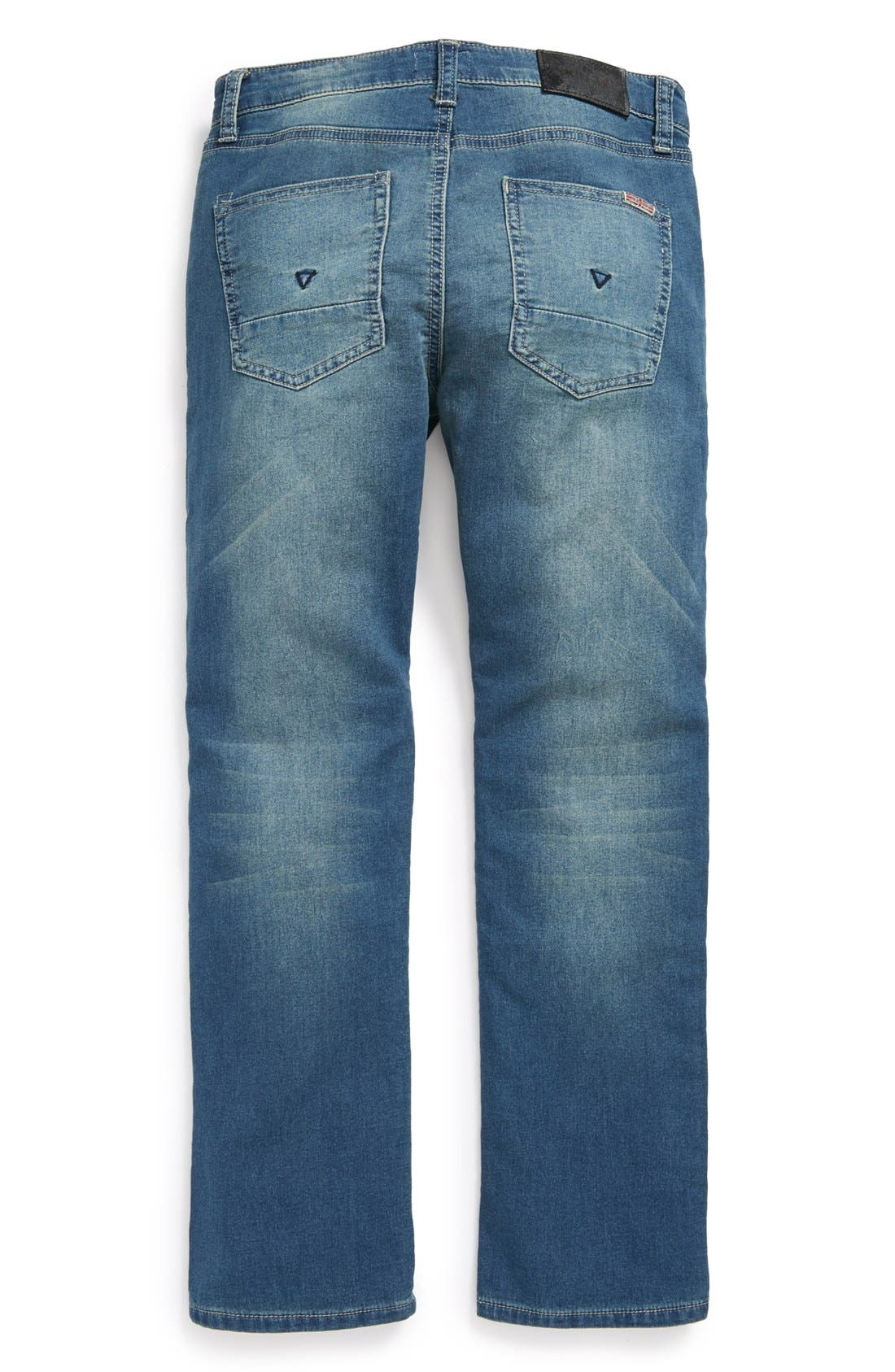 Alternate Image 1 Selected - Hudson Kids 'Parker' Straight Leg Jeans (Little Boys)