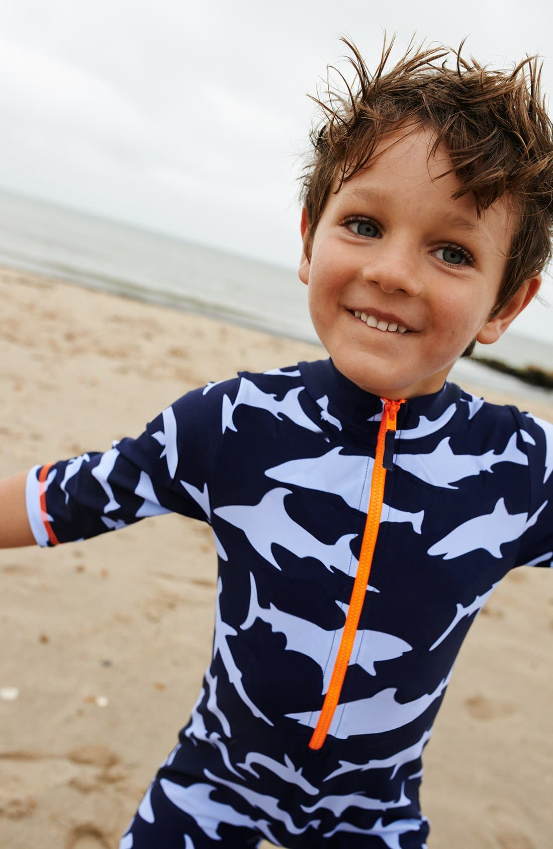 Alternate Image 2  - Mini Boden Surf Suit (Toddler Boys)